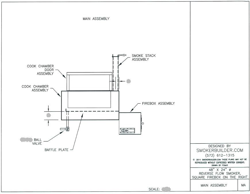 Bbq Smoker Schematic | Wiring Diagram on