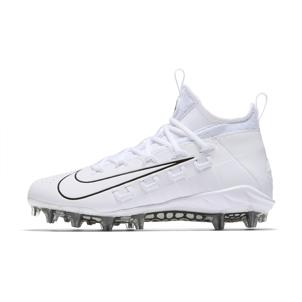 2d16dcb763a7 Nike Alpha Huarache 6 Elite LAX Lacrosse Cleat Size 14 (White ...