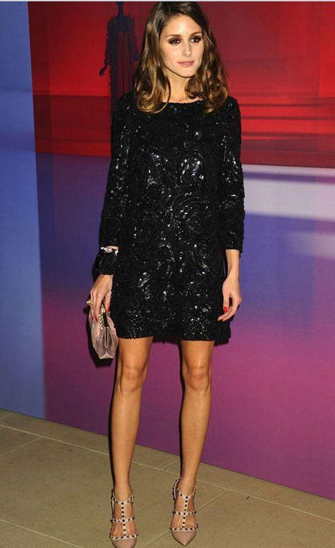 Olivia Palermo - Seda y lentejuelas #moda #celebrities
