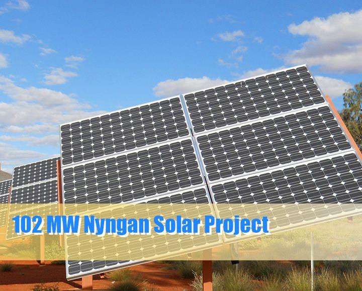 Australia S Largest Solar Project 102 Mw Nyngan Has Begun Http 1sun4all Com Solar Utility Scale Australias Largest S Solar Projects Solar Roof Solar Panel