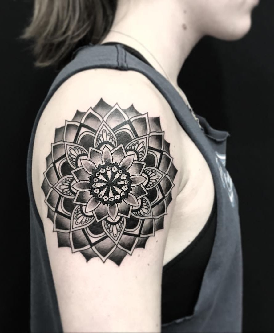 50 of the most beautiful mandala tattoo designs for your