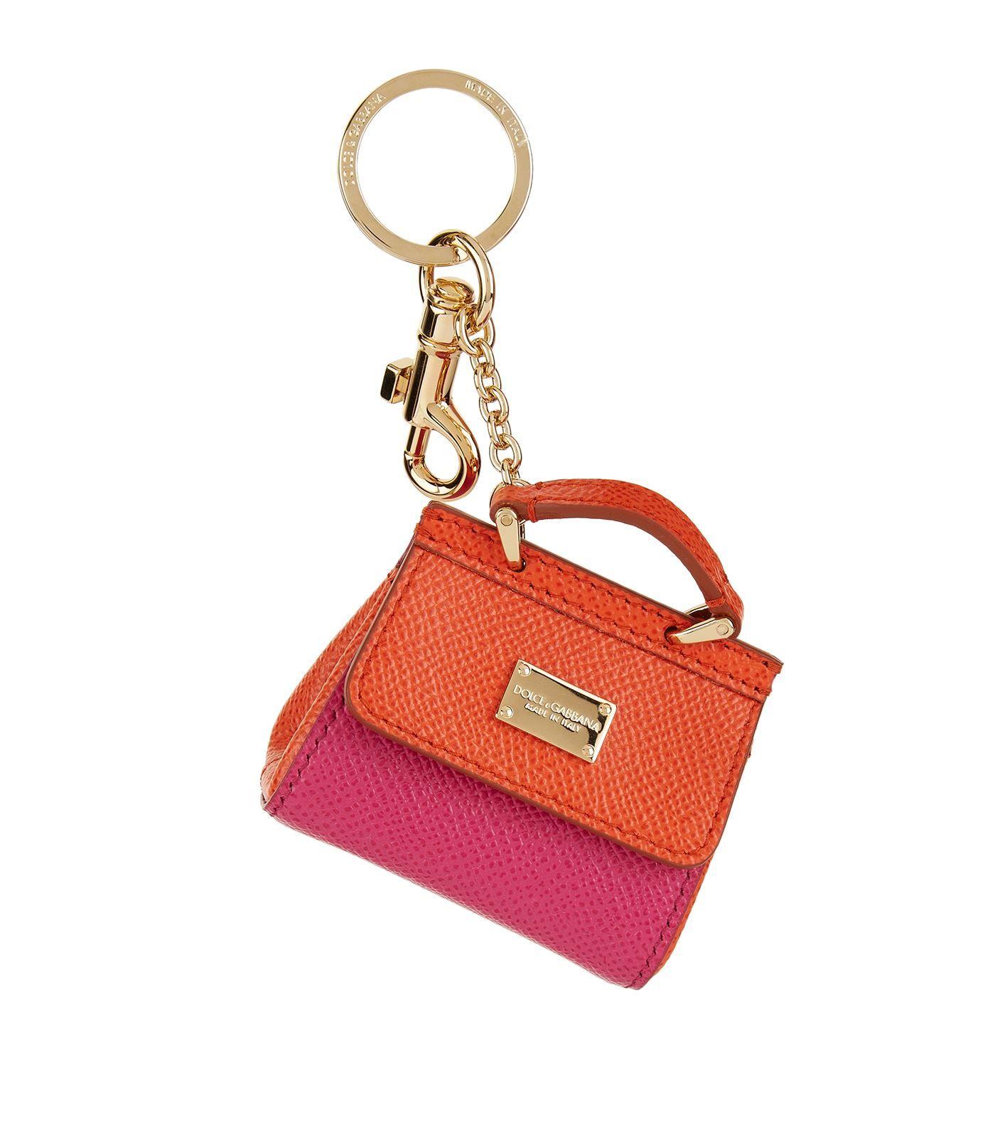 Dolce amp  Gabbana Mini Sicily bag keychain Clearance Recommend ... b92245b4ec