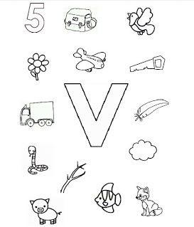 letters en klanken - kinderwerkbladen