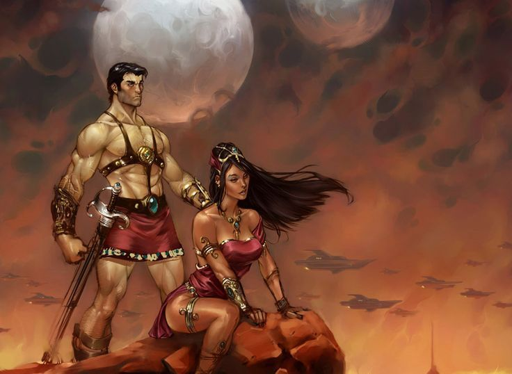 dejah thoris images | Dejah Thoris | Barsoom | Pinterest