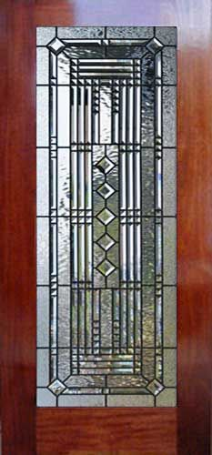 VIEW ABSTRACT 38V custom abstract leaded glass pencil bevel door window & VIEW ABSTRACT 38V custom abstract leaded glass pencil bevel door ...