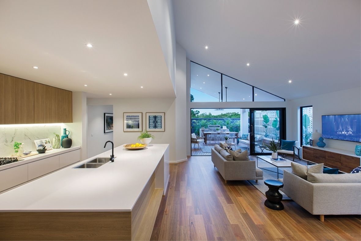 Porter Davis Homes House Design Dunedin Open Plan Kitchen
