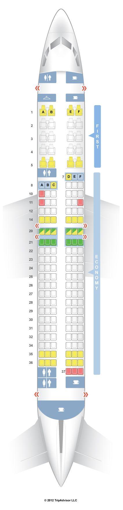 Boeing 737-800| Seat plan