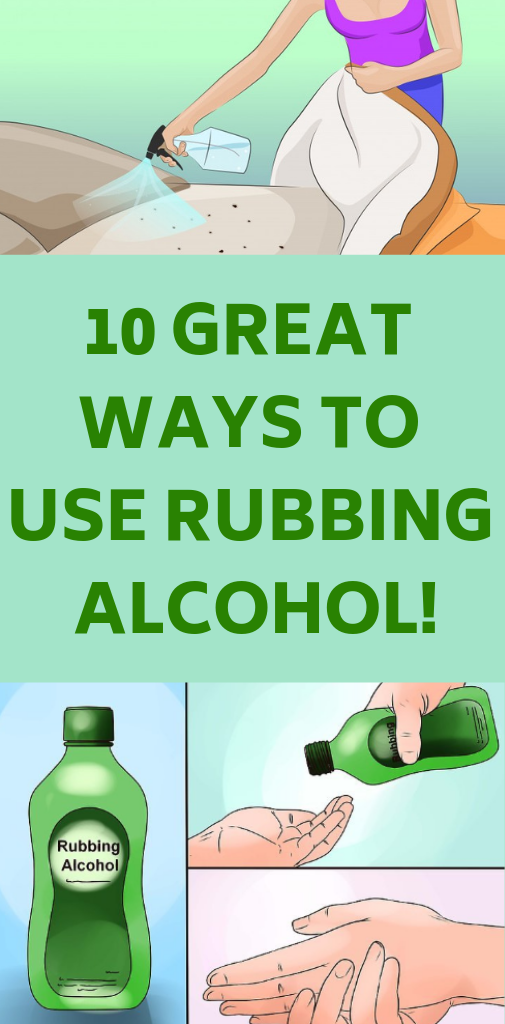 10 Great Ways To Use Rubbing Alcohol! (With images) Bad