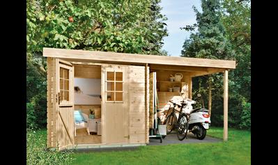 Gartenhaus Holz Klein Baur In 2021 Gartenhaus Holz Gartenhaus Aus Polen Gartenhaus