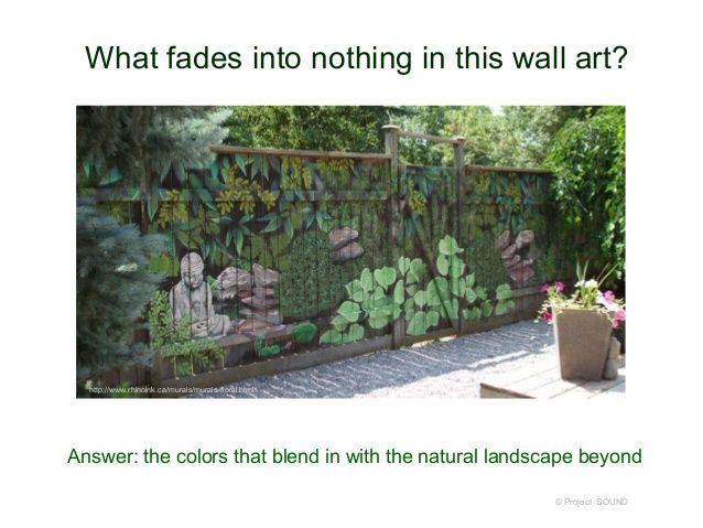 Murals On Backyard Block Walls Google Search Garden