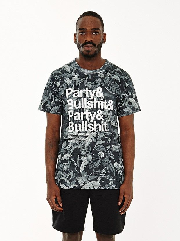 Party&Bullshit T-Shirt - Black Jungle
