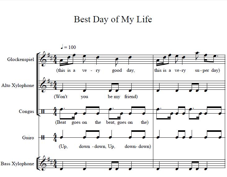 school song matilda sheet music pdf