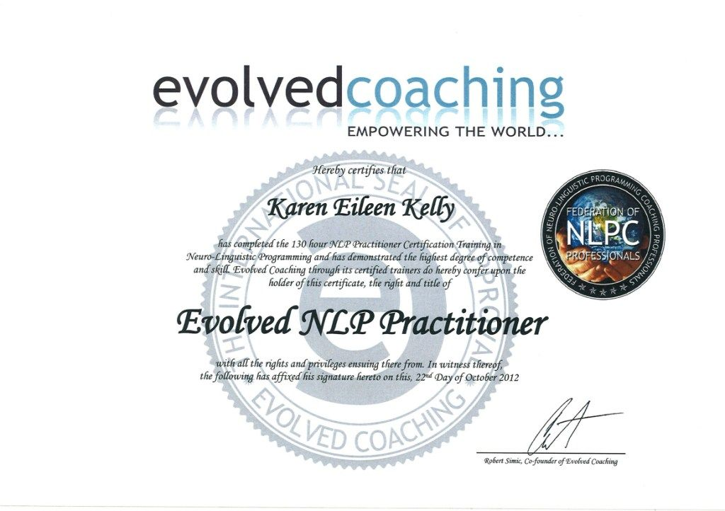My International NLP Practitioner Accreditation (With ...
