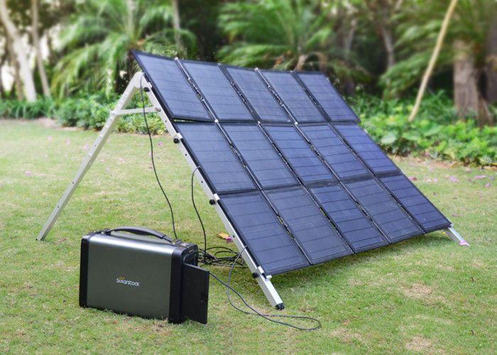 500 Watt Camping Emergency Power Generator Portable Solar Power Systems Kamp Karavanlar