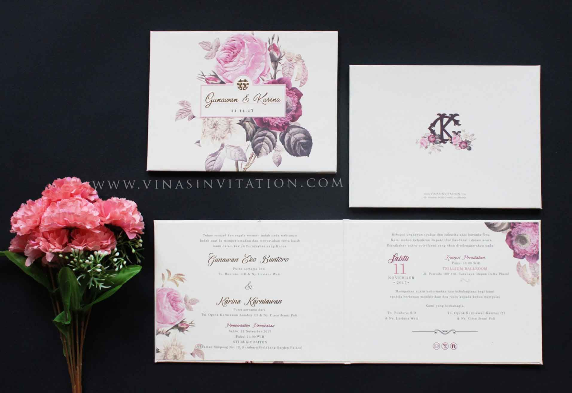 Vinas invitation flower blossom flower theme wedding invitation vinas invitation flower blossom flower theme wedding invitation semarang wedding invitation sydney wedding invitation surabaya custom wedding stopboris Gallery