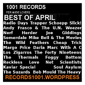 BEST OF APRIL MIXTAPE POWERPOP https://records1001.wordpress.com/