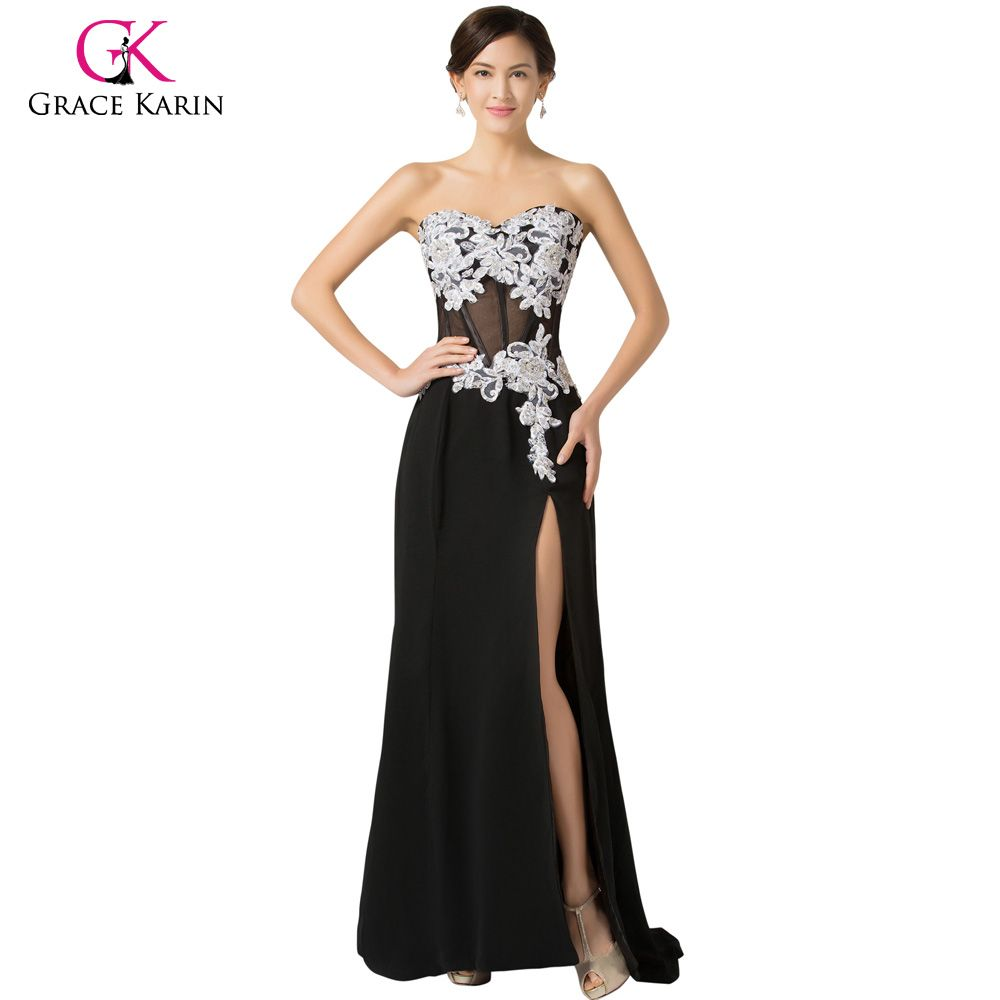 Click to buy ucuc long prom dresses grace karin women sexy