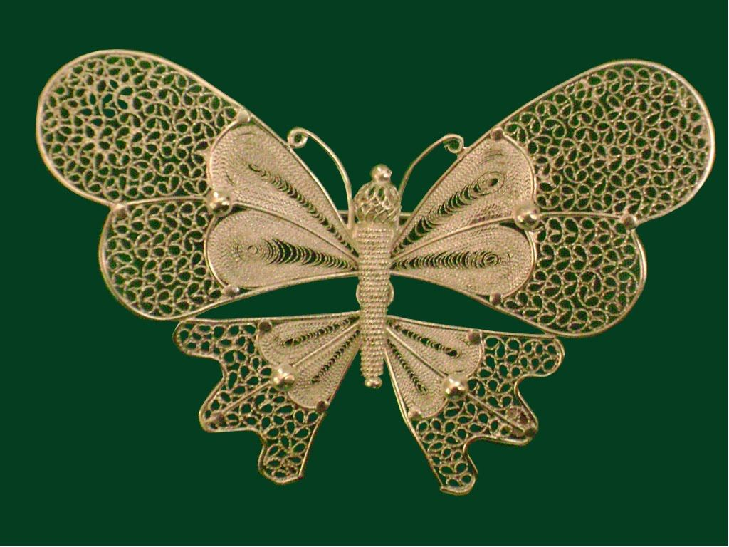 Mariposa Butterfly Filigrana Momposina Jewels Joyau Pinterest  # Muebles Momposinos