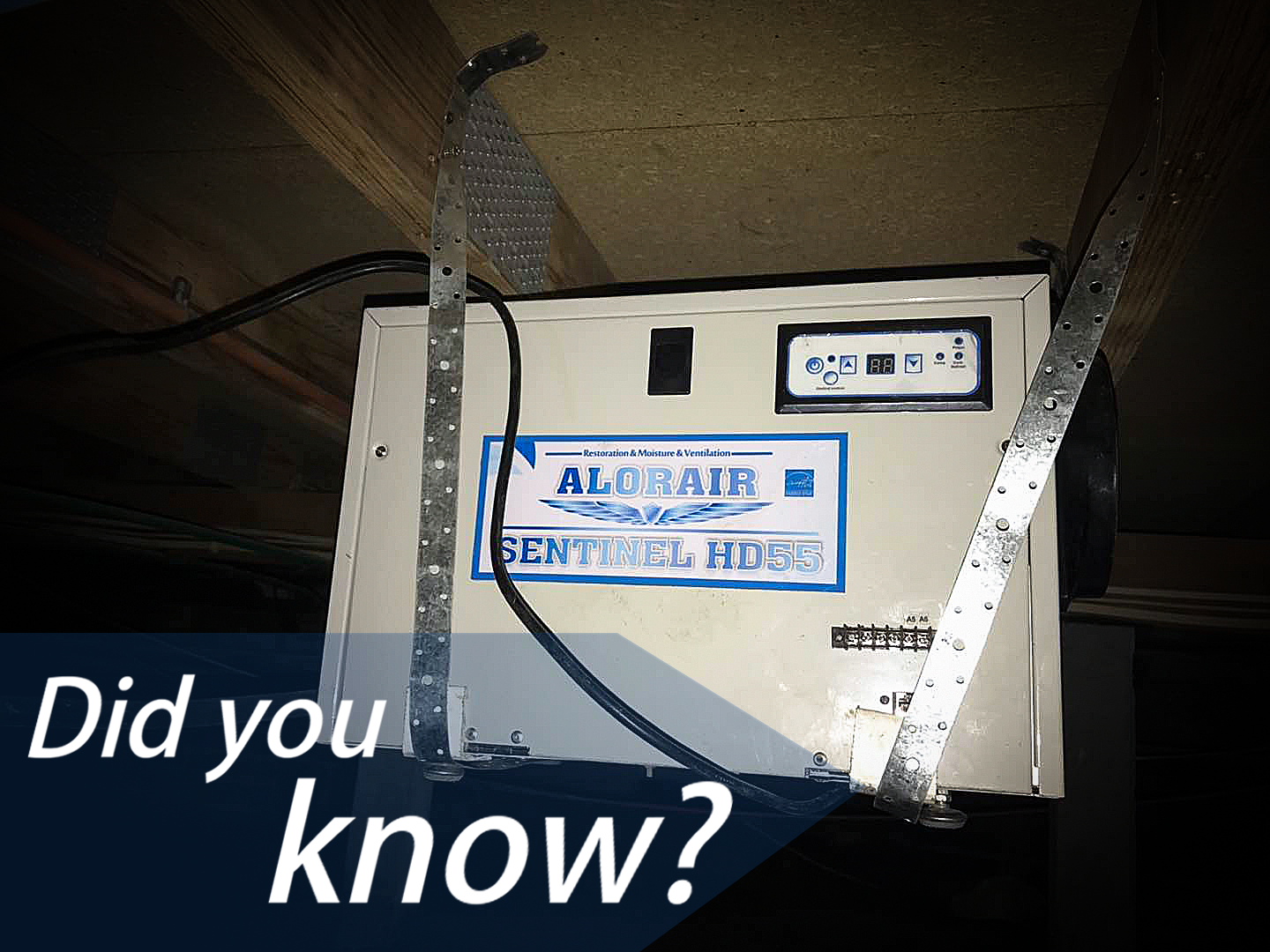 Using a dehumidifier in your crawlspace can reduce the amount of moisture in the air. Mold does not grow well in dry areas. www.alorair.com thedryair.com #AlorairDehumidifier #waterdamagerestoration  #alltrades #builder #build #construction #construct #melbournebuilder #melbournecarpentry #houserepairs #buildingrepair #home #house #masterbuilders #waterdamage #waterdamagerepair #melbourne #melbournebuilders #buildersofinsta #property #waterremediation #dryingchamber #specialtycontractor