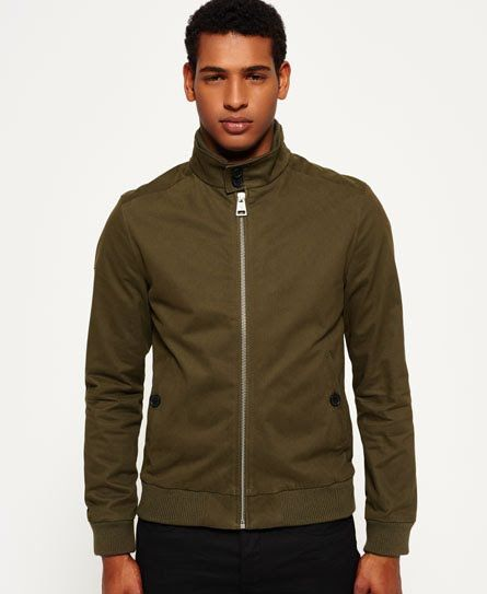 fe72a1547 Superdry Leading Harrington Jacket Green | jacket design | Jackets ...