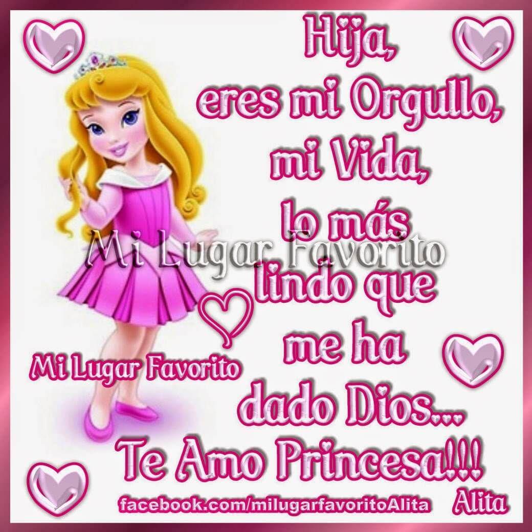 Imágenes Para Decir Que Mi Hija Es Mi Princesa 1 Jpg 1040 1040 Felicitaciones De Cumpleaños Hija Imagenes Para Mi Hija Carta A Mi Hija