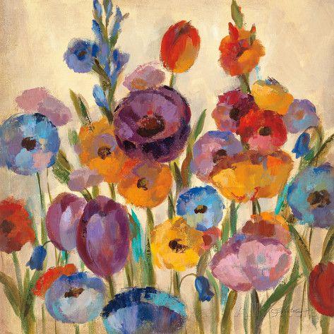Garden Hues I Impressão artística