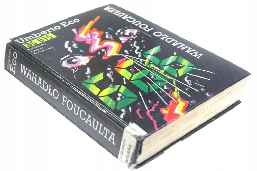 Wahadlo Foucaulta Umberto Eco 9266051799 Oficjalne Archiwum Allegro Umberto Eco Gum Allegro
