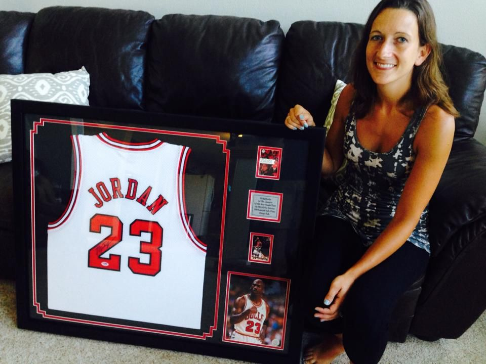 """""""Guys, thanks for the great work with my Jordan jersey! As"""