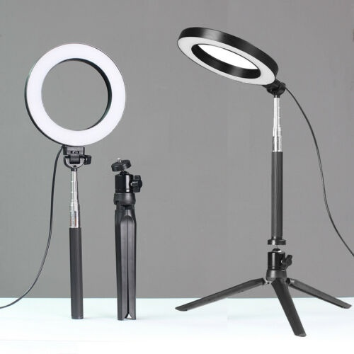 Led Ring Light Dimmable 5500k Lamp Photography Camera Photo Studio Phone Video Walmart Com In 2020 Led Ring Light Led Ring Ring Light With Stand