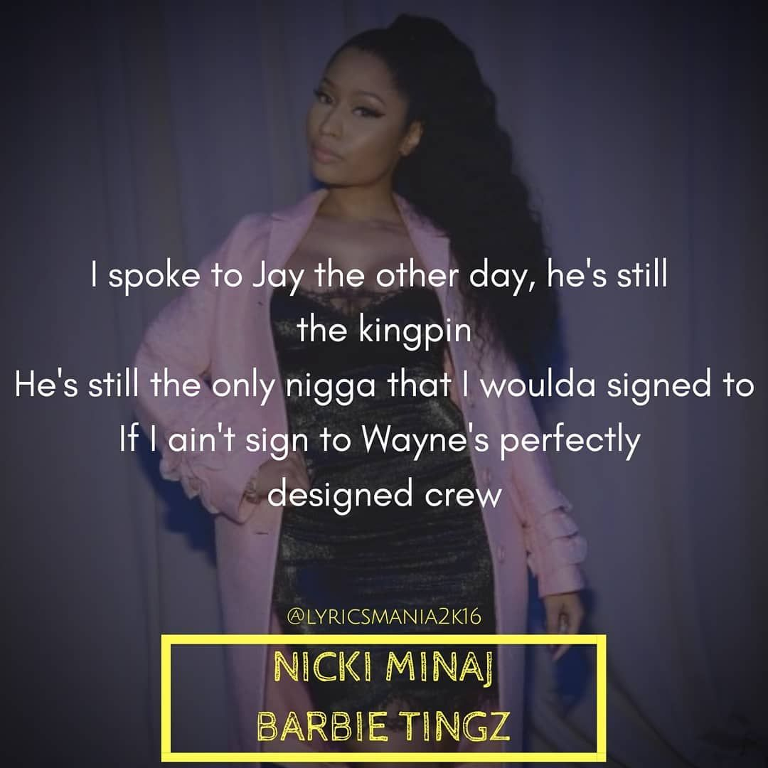 Nicki Minaj Barbie Tingz Nickiminaj Barbietingz Youngmoney