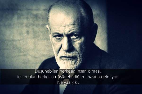 Sigmund Freud Sozleri Sigmund Freud Psikoloji Ozlu Sozler