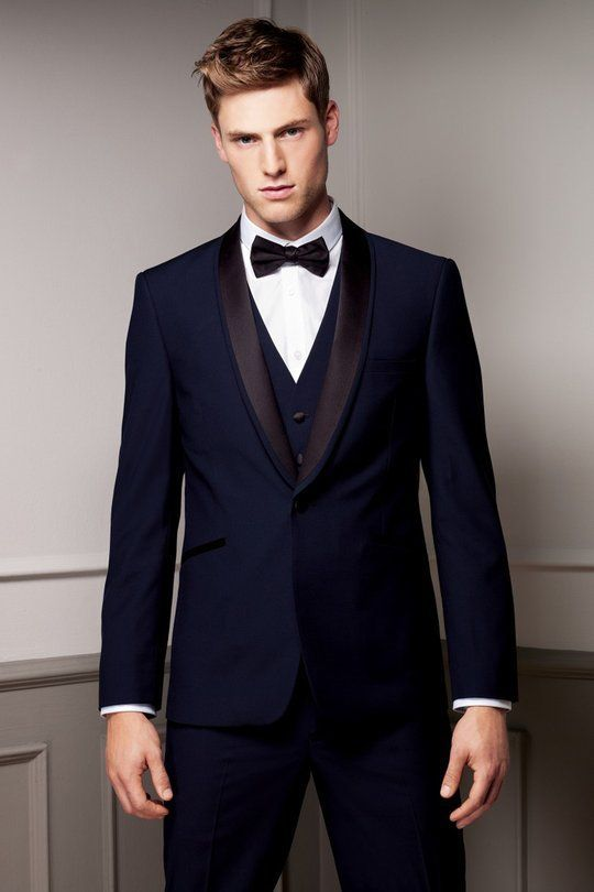 blue tux | Wedding Suits | Pinterest | Blue tuxedos, Prom tuxedo ...