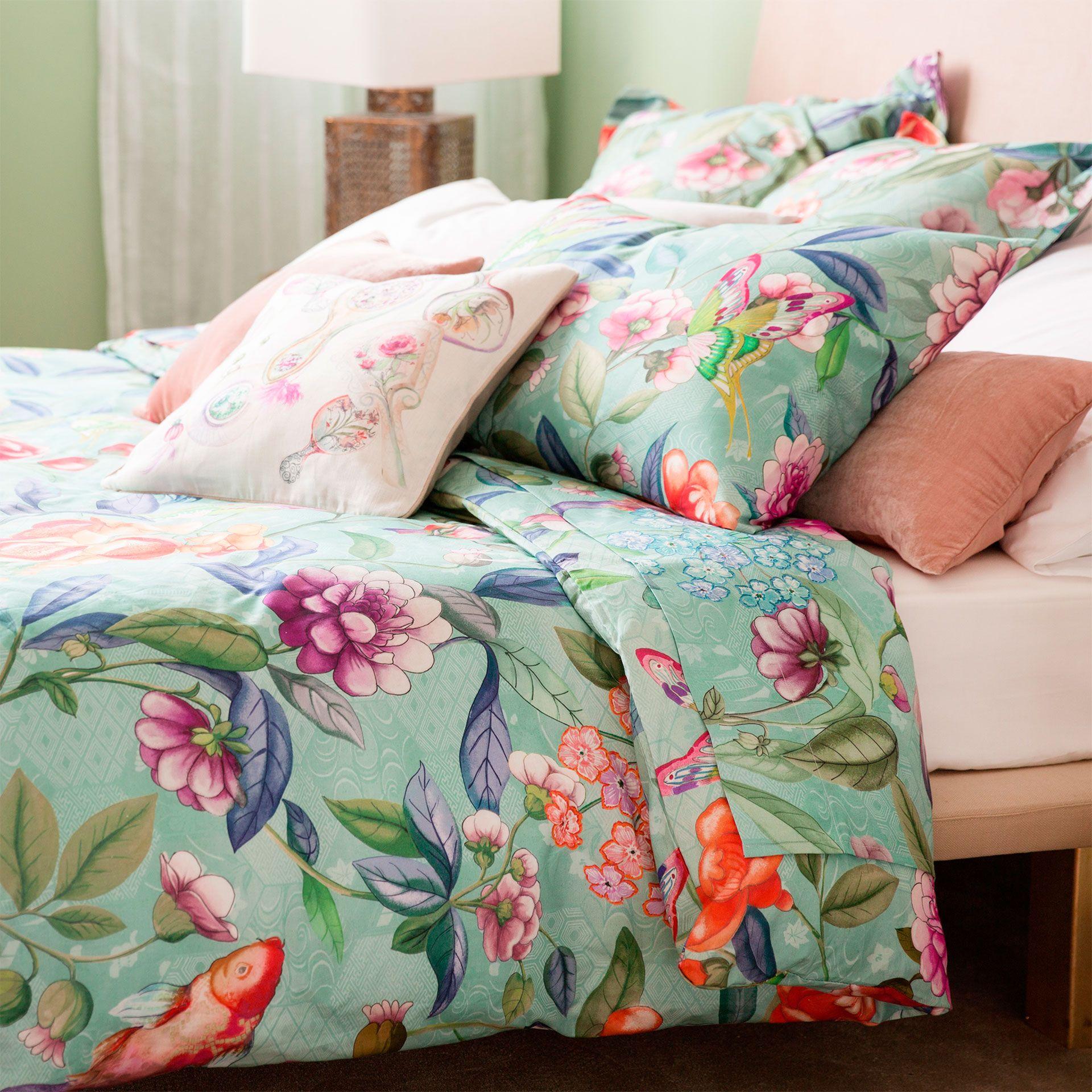 Bettwäsche mit Blumenprint - Bettwäsche - Schlafen   Zara ...