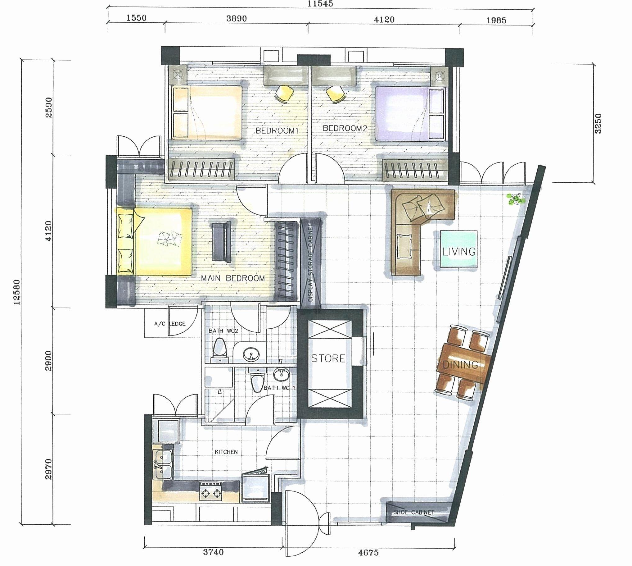 Small Bedrooms Arrangement Ideas Unique Room Layout tool ...