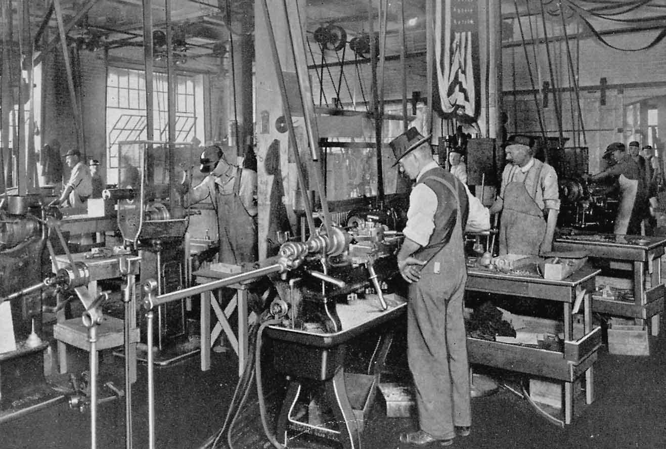 Holcomb Amp Hoke Factory Circa Mid S