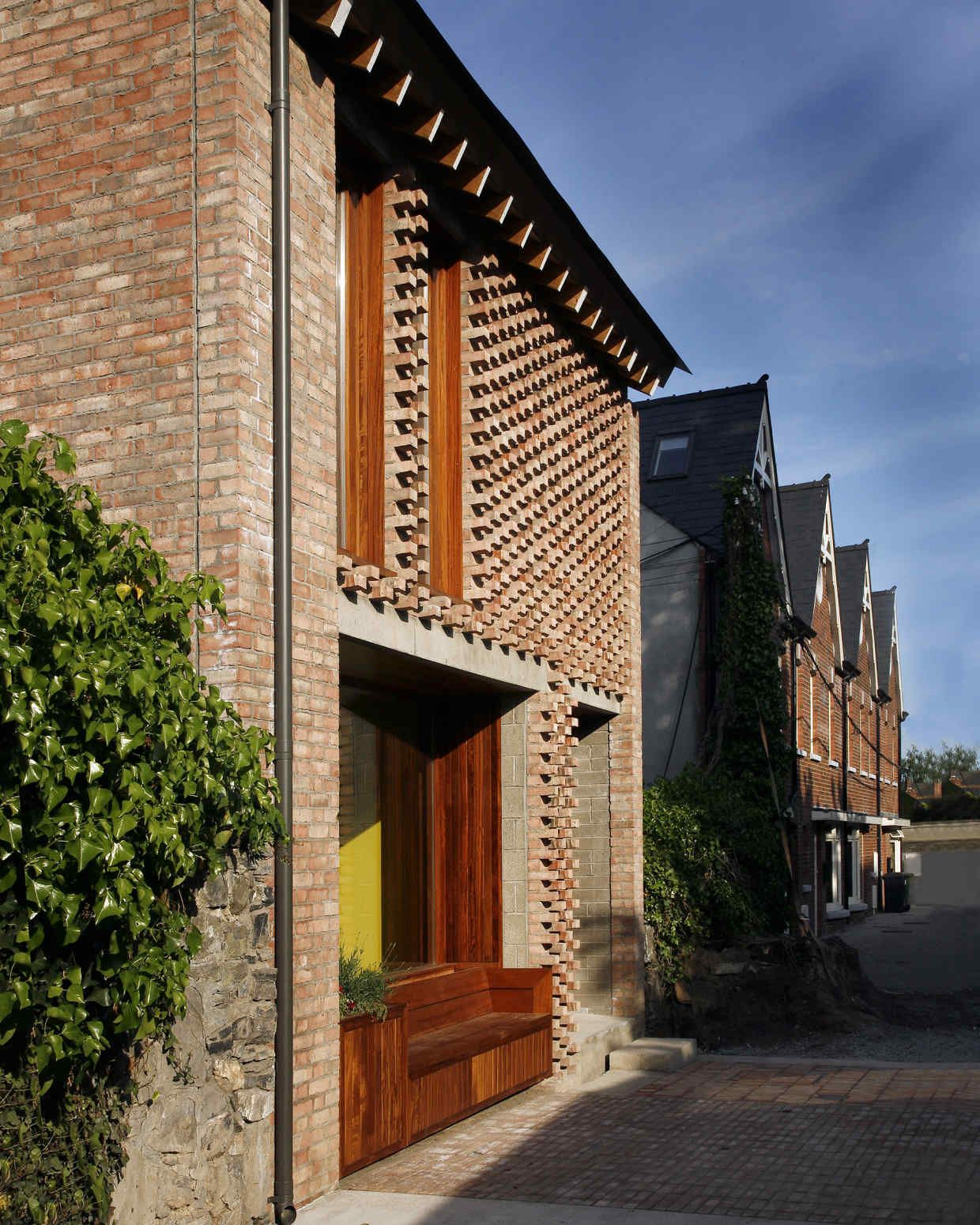 Brick House Addition In Dublin: Architecture's Rekindled Love Affair With Brick