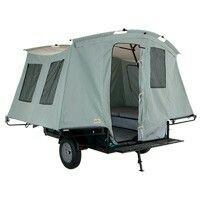 Trailer to tent in 5 min