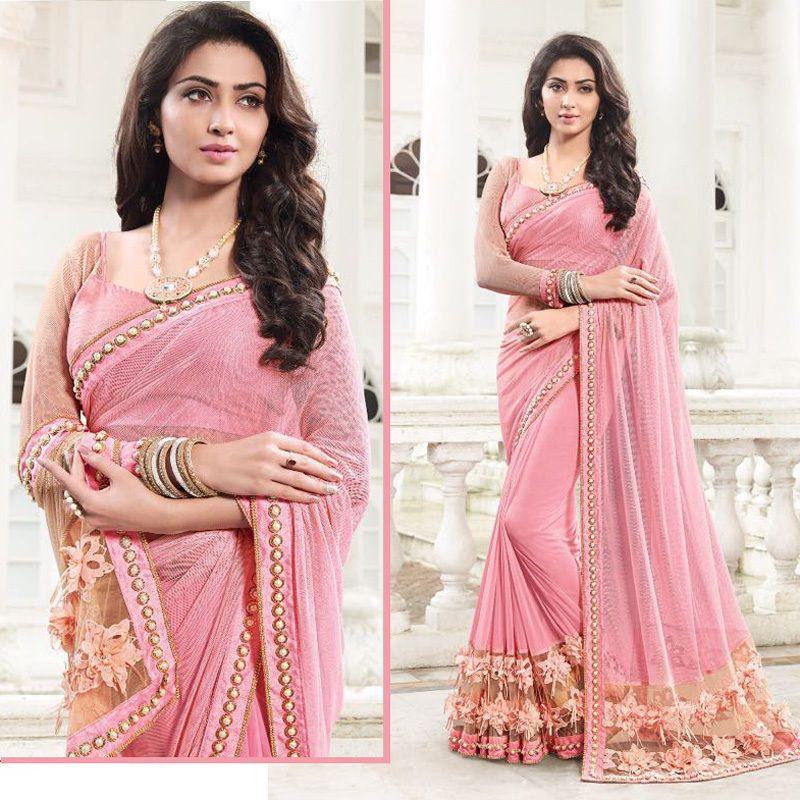 Bollywood Designer Saree Pakistani Wedding Indian Bridal Latest