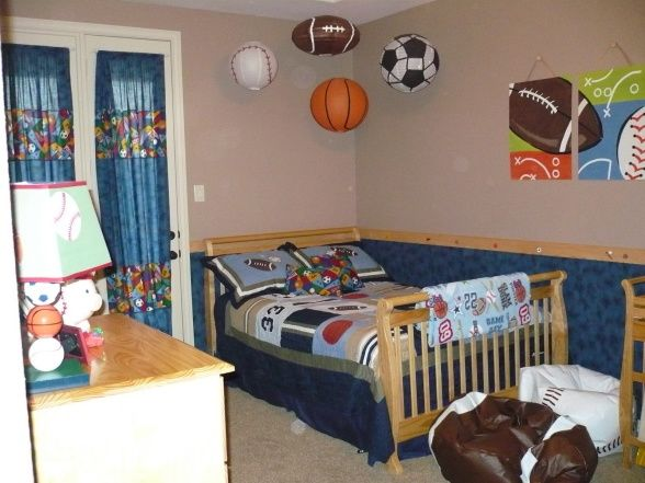 Kids Sports Room Ideas basketball room ideas | sports-theme room - boys' room designs