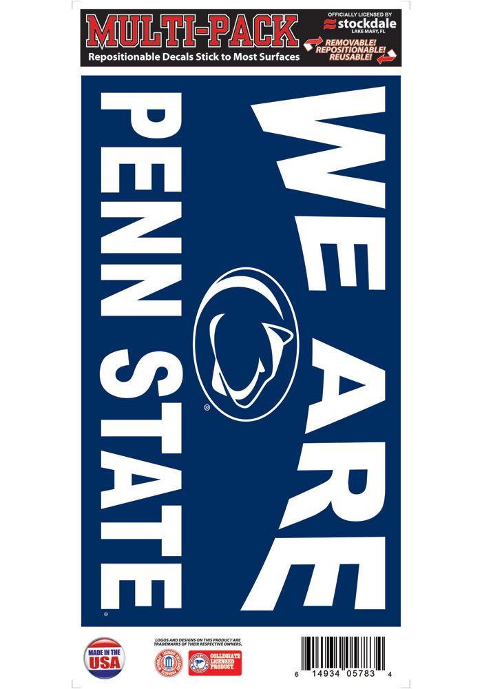 Penn State Nittany Lions 6x12 We Are Penn State Auto Decal