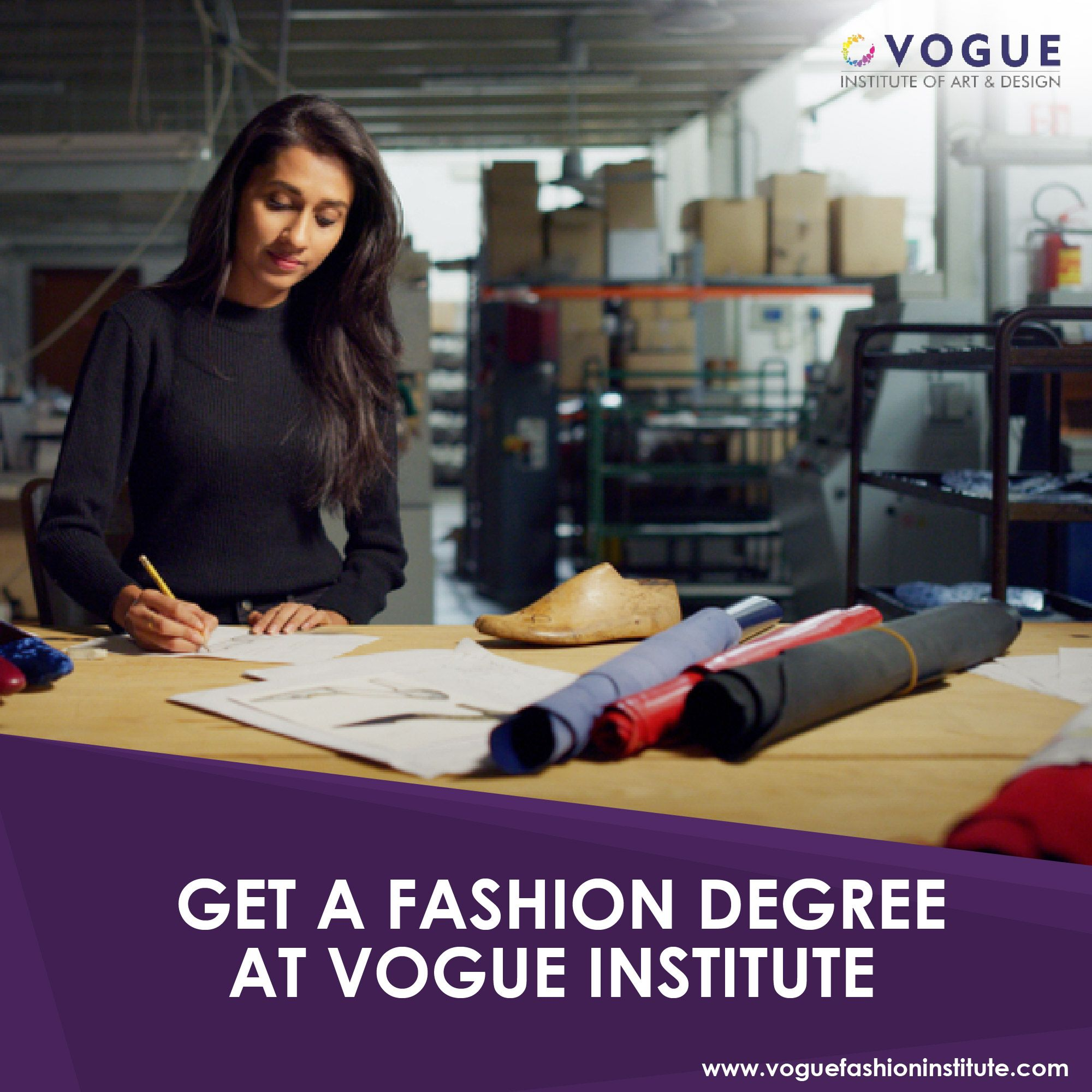 Get A Fashion Degree At Vogue Institute In 2020 Fashion Designing Course Fashion Degrees Cool Style