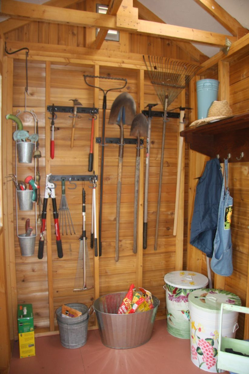 41 Brilliant Ideas For Storage Shed