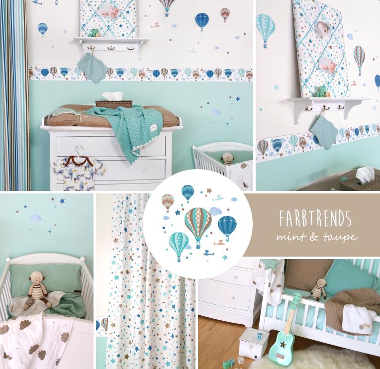 Messe Und Wohndesign: Babyzimmer Gestalten Mit Farben Bei Fantasyroom