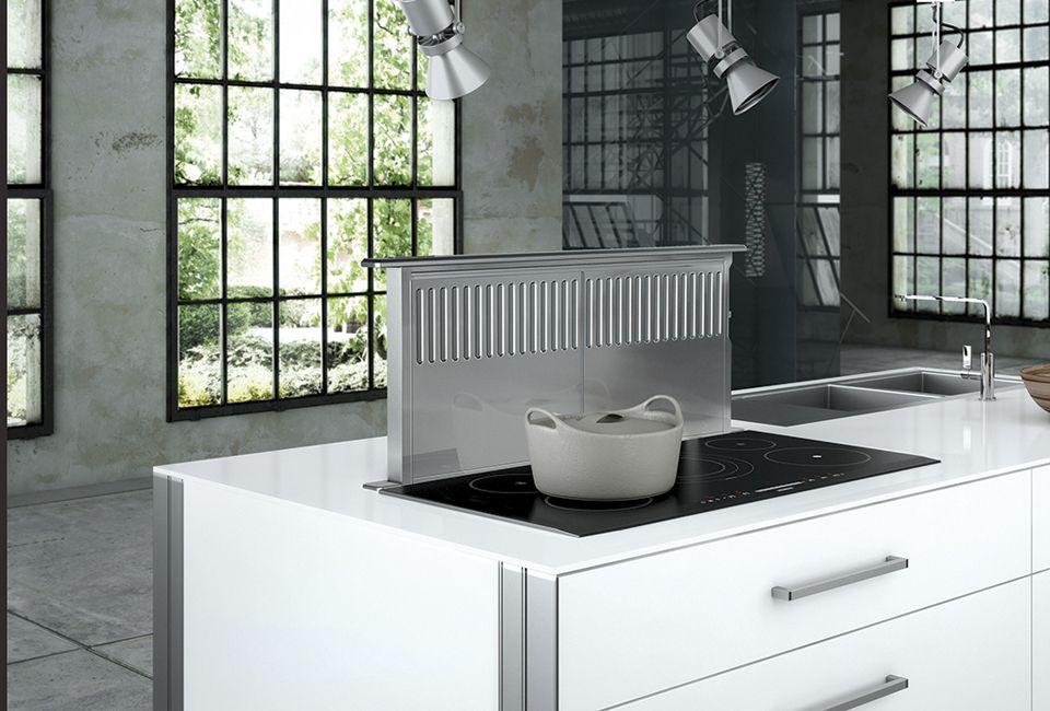 Faber Scirocco Down Draft Vent Direct Vent Kitchen Ventilation Dishwasher Safe