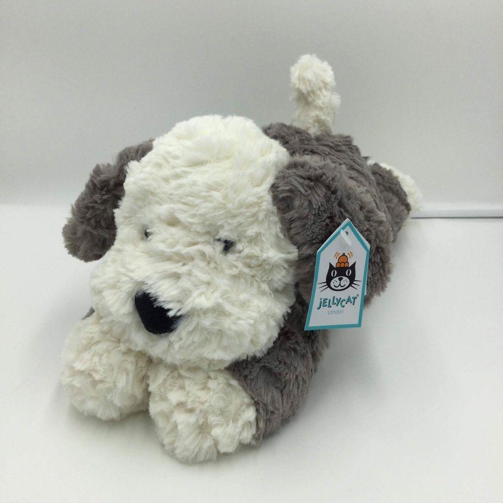Jellycat Tumblie Sheep Dog Plush Soft Toy White Gray Stuffed Hugs New Super Soft Jellycat Plush Stuffed Animals Dog Stuffed Animal Cuddly Toy [ 1000 x 1000 Pixel ]