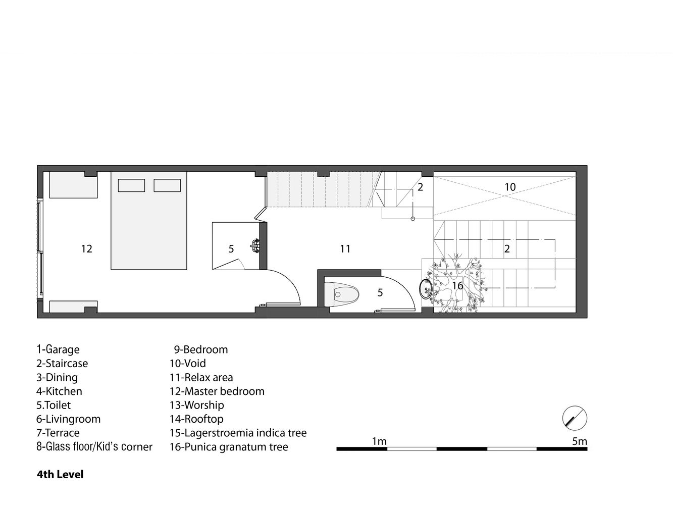 Gallery Of 3x10 House Ahl Architects Associates 24 Architect Narrow House Designs Narrow House