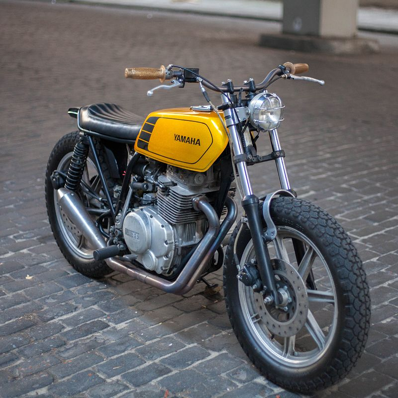 Unkillable The Custom Xs400 That Survived Two Crashes Bike Exif