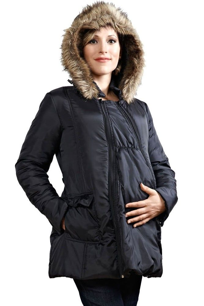 3d707f547a881 Poppy 3-in-1 Maternity Coat in Black. Please use coupon code NewProducts to receive  15% off these items. To receive the discount, please place your order by ...