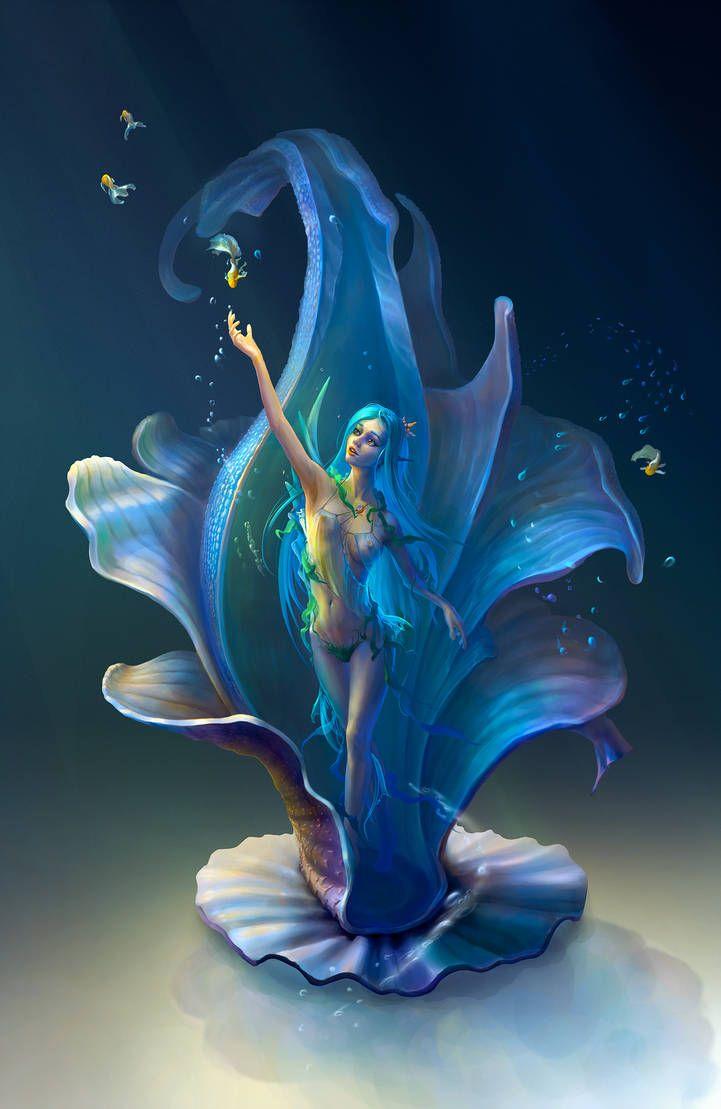 узор водные феи картинки будут видеть