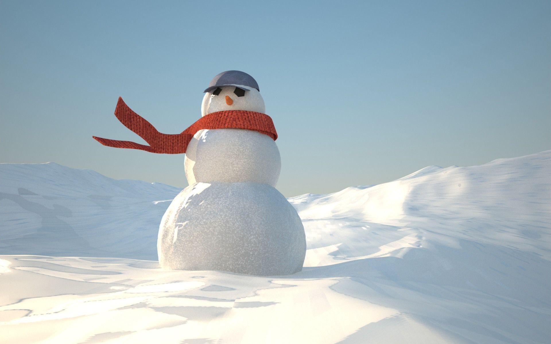 Снеговик смешные картинки, открытка куму